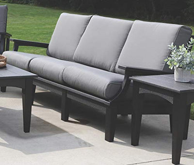 Wildridge LCC-134 Recycled Plastic Heritage Deep Seating Sofa - Ships in 10-14 Business Days
