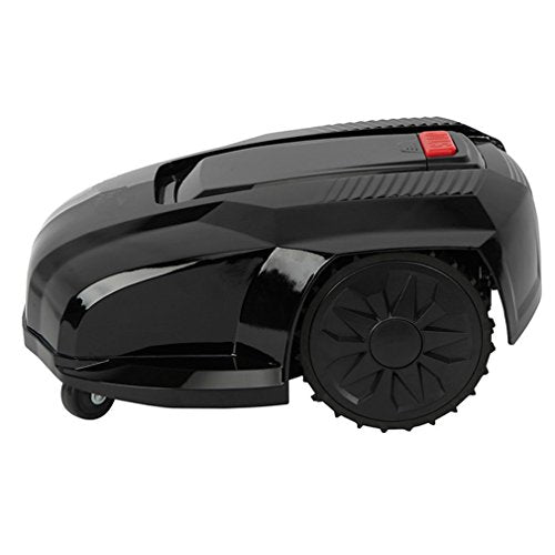 Pre Programmed Robotic Lawn Mower Overload Protect Mower Weeding Machine with LCD Screen