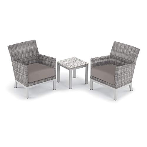Oxford Garden 5602 Argento & Travira Furniture Set, Powder Coat Flint