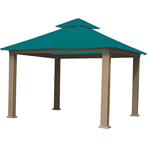 ACACIA 12ft x 12ft Gazebo Emerald OutDura Canopy