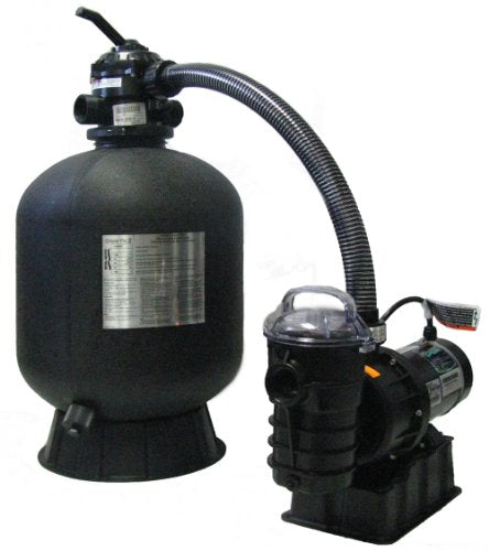 Pentair Sta-Rite SRCF2019DE1260 Cristal-Flo II Aboveground Sand Filter System with 1 HP Dynamo Pump