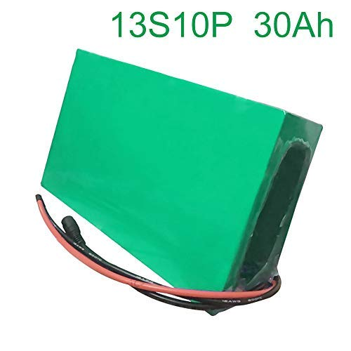 48V 30Ah 13S10P 18650 Li-ion Battery Pack E-Bike Ebike electric bicycle 25019070mm Accept customization