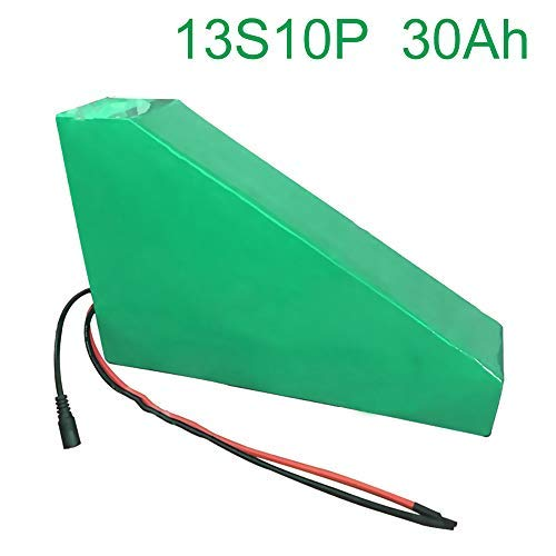 48V 30Ah 13S10P 18650 Li-ion Battery Pack E-Bike Ebike electric bicycle 330310200707045mm