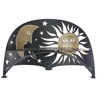 Celestial Bench - Cricket Forge - Outdoor Metal Furniture