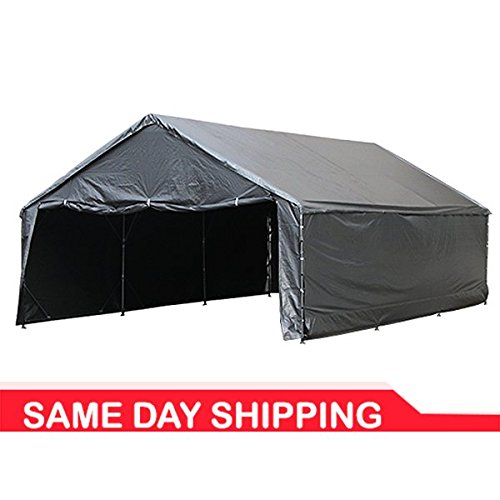 "18' x 50' 1-5/8"" Reinforced Canopy with Enclosure"