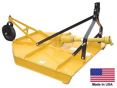 "Streamline Industrial FIELD & BRUSH MOWER Rotary Cutter - 3 Point Hitch Mounted - PTO Driven - 60"" Cut"