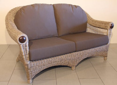 Dumas Handmade Rattan Wicker 5 Pieces Living Set Unique Design Tropical Style
