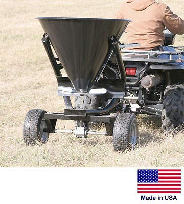 Streamline Industrial SPREADER - Tow Behind for ATVs UTVs & Garden Tractors - 300 Lb / 5 Bushel Cap