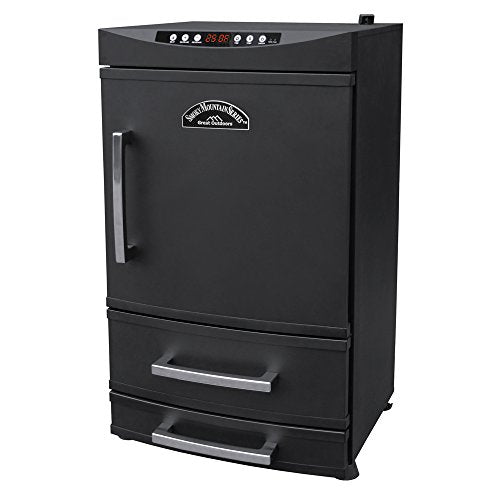 Landmann Smoky Mountain 32970 Electric Smoker with 2-Drawer Access, 32-Inch