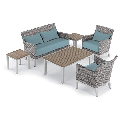 Oxford Garden 5469 Argento & Travira Furniture Set, Powder Coat Flint