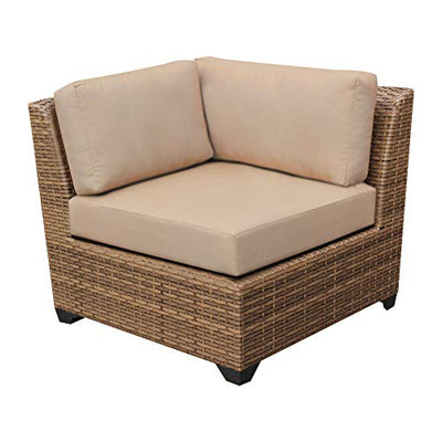 TK Classics LAGUNA-06k Laguna Seating Outdoor Furniture, Wheat
