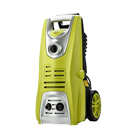 AIMCAE Pressure Washer Pressure Washer 1700W with Wheels and Trolley Car Washing Machine