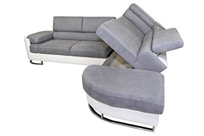 VVRHomes ICE Right Corner Sectional Sofa Bed
