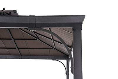Sunjoy Harper Gazebo, Large, Black