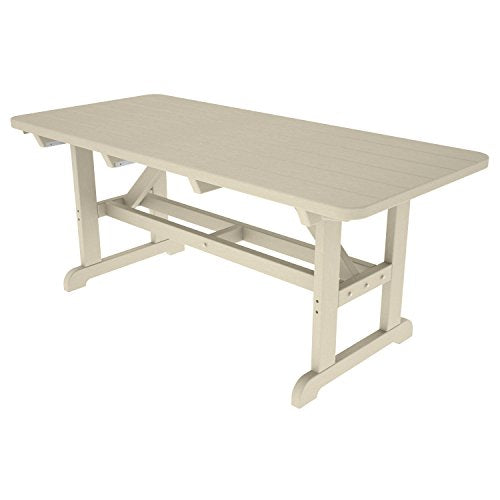 POLYWOOD Park Harvester Picnic Table Finish: Sand