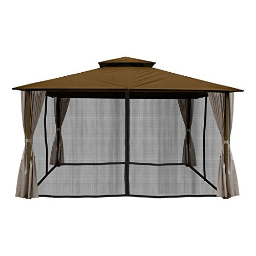 Paragon-Outdoor GZ584NCK2 Sedona Gazebo, Cocoa