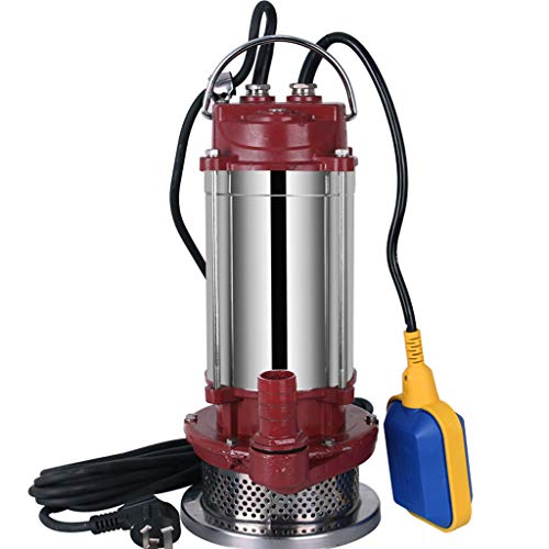 XY Stainless Steel Submersible Pump 220V Household Agricultural Water Pump Small Pumping Machine Self-priming Pump Clear Water Pump Farm Irrigation Sprinkler pump (Size : 750W(F))
