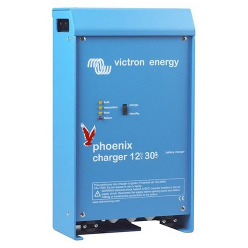 Victron Energy Phoenix Charger 12/50 (2+1) Uin 90-265Vac/45-65Hz