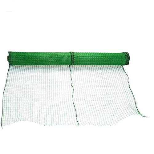 Virod Garden Netting Anti-Bird Netting, Garden Plant Netting HDPE Garden Farm Plants Fencing Mesh Fruits Protector Durable Fish Ponds Cover Green in 3 Sizes (Color : Green, Size : 5×100m/16×328ft)
