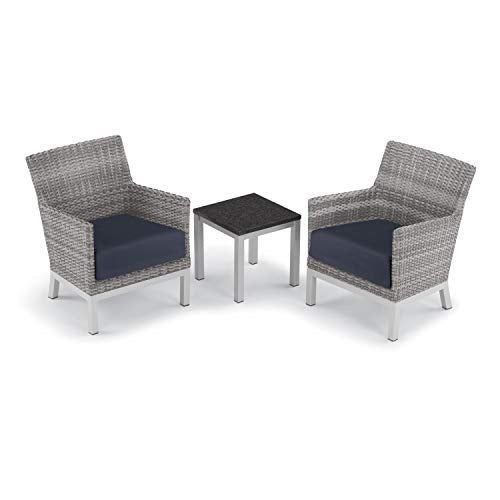 Oxford Garden 5596 Argento & Travira Furniture Set, Powder Coat Flint