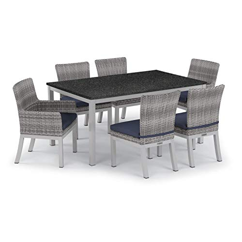 Oxford Garden 5661 Travira & Argento Furniture Set, Powder Coat Flint