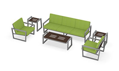Elan Furniture VLS-710 Grand Vero Outdoor Lounge Set Ginkgo