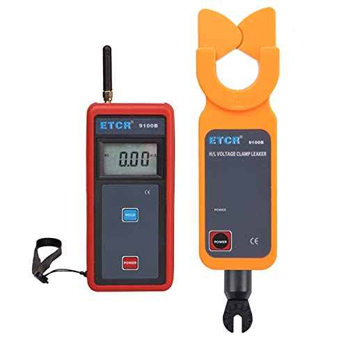 XINXI-MAO Safe Meter H/L Voltage Clamp Meter As High-Precision Low-Voltage Clamp Meter and Leakage Current Meter \Wireless ETCR9100B Practical Meter