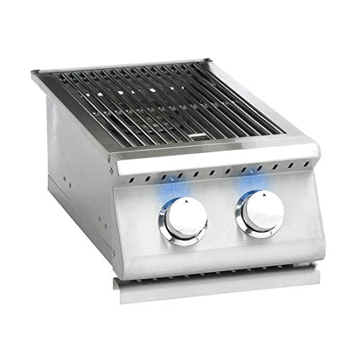 Summerset Sizzler Pro Series Built-in Double Side Burner (SIZPRO-SB2-NG), Natural Gas