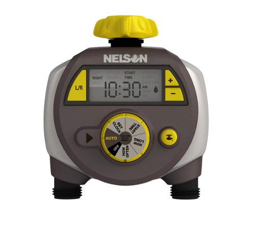Nelson 20 Pack Dual Programmed Outlet Hose Faucet Water Timer