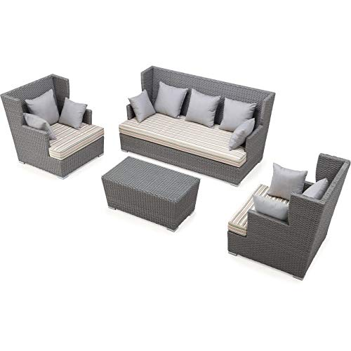 Ceets Ascent 4 Piece Outdoor Conversation Set