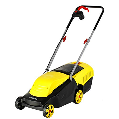 WHJ@ Hand Push Electric Lawn Mower Small Household Weeder Lawn Mower Lawn Mower Lawn Mower Artifact