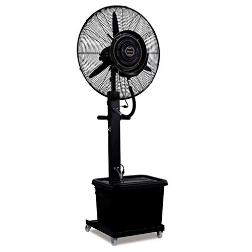 "Oscillating Misting Fan 26""/30"" High Power Shopping Mall Spray Humidification and Cooling Stand Fan, Suitable for Industrial, Factory, Outdoor 110V/60Hz"