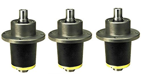Montree Shop 3 PK. Bad BOY (D7) CZT Model Commercial Spindle Assembly 037-6015-00,037-6015-50
