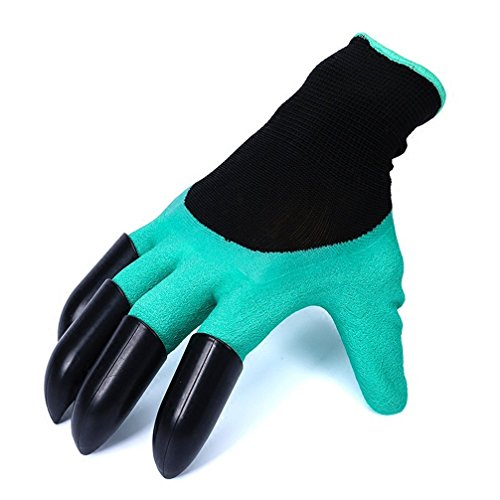 Meanch Garden Gloves with Fingertips Right Claws