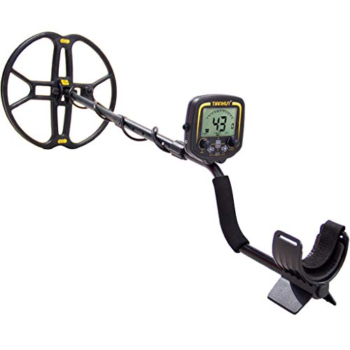 ZXH Underground Handheld Metal Detector, Waterproof Probe High Precision 10M Waterproof Coil with LCD Display Archaeological Gold Detector
