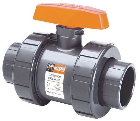 Hayward TB1400SE 4-Inch PVC TB Series Ball Valve with EPDM Seals and Socket End Connection