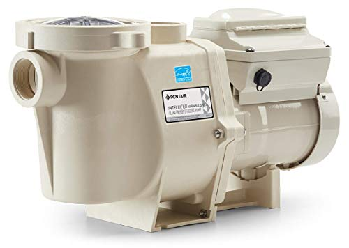 Pentair 011018 IntelliFlo Variable Speed High Performance Pool Pump, 3 Horsepower, 230 Volt, 1 Phase - Energy Star Certified