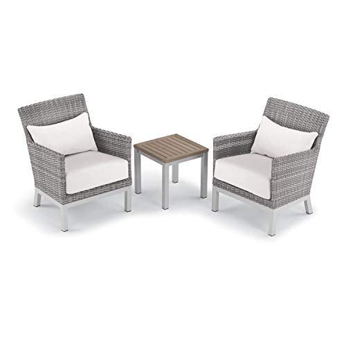 Oxford Garden 5588 Argento & Travira Furniture Set, Powder Coat Flint