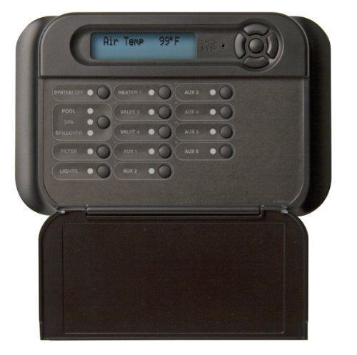 Hayward AQL2-WB-RF-PS-8 Black Goldline Wireless Wall Mount Remote Display/Keypad Replacement for Hayward Pro Logic PS-8 System