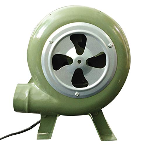 Cast iron blower, powerful wind multi-wing wing impeller pure copper motor thickened fixed bracket efficient energy-saving induced draft fan, family firewood,coal burning,small boiler,industrial dri