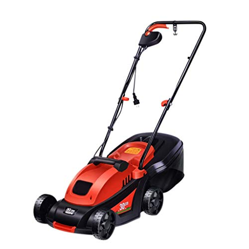 WHJ@ 220v Dc Small Household Electric Lawn Mower Hand Push Lawn Machine Plug-in Trimmer