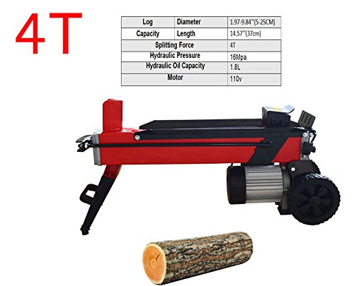 Log Splitter Electric Household Wood Splitting Machine FOR Splitting Log 4T