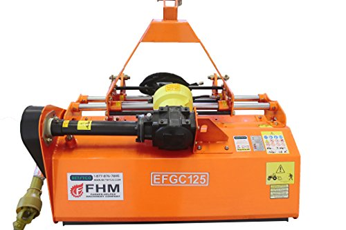 "Farmer Helper 48"" Cut Heavy Duty Hydraulic Offset Flail Mower"