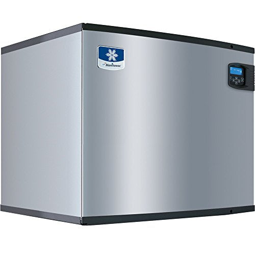 "IY-1874C Indigo Series QuietQube 30"" Remote Condenser Half Size Cube Ice Machine, 230V/50/ Hz/1"