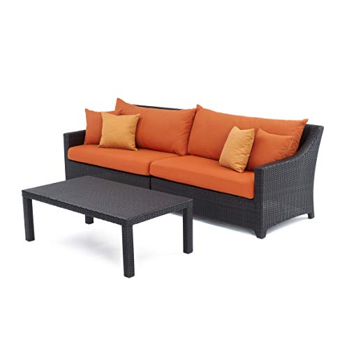 RST Brands OP-PESOFT-TKA-K Deco Sofa with Coffee Table - Tikka