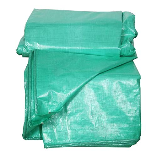 Wangczyp Tarpaulin Outdoor Sunscreen PE Waterproof Canvas Used for Balcony Plant, Garden Furniture, Trampoline, Wood, Car, Camping Gardening (Size : 10x15m)
