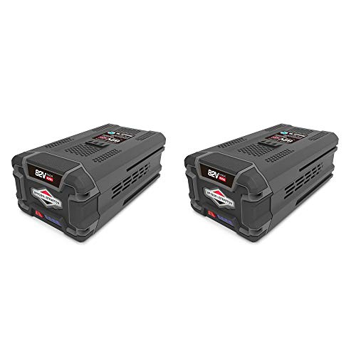 Snapper XD 4.0 Ah 82V Lithium Ion Battery for Snapper Cordless Tools (2 Pack)