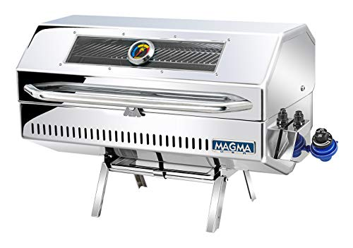 Magma Products, A10-1225-2GS Monterey 2 Infra Red Gourmet Series Gas Grill, Polished Stainless Steel