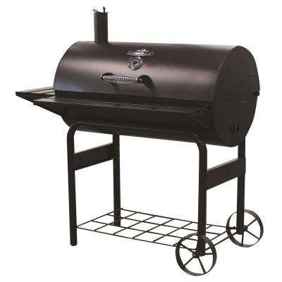 Char-Griller Competition Pro Offset Charcoal or Wood Smoker with Cover