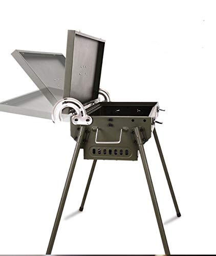 TangFeii Multi-Function Outdoor Portable Grill Charcoal Grill Outdoor Multi-Purpose Stove